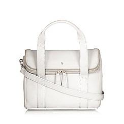 Betty Jackson.Black - Designer grey leather fold up shoulder bag