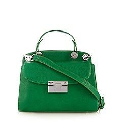Betty Jackson.Black - Designer green push lock small cross body bag