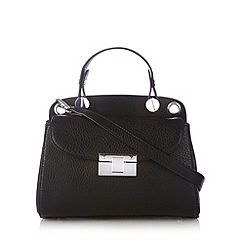 Betty Jackson.Black - Designer black block buckle cross body bag