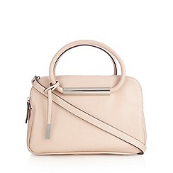 Betty Jackson.Black - Designer light pink three compartment grab bag