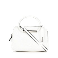 Betty Jackson.Black - Designer white bar grab bag