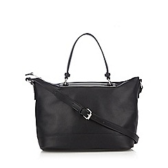 Betty Jackson.Black - Designer black metal bar grab bag