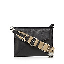 Betty Jackson.Black - Black envelope style cross body bag