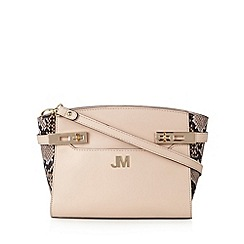Star by Julien Macdonald - Designer pale pink twist lock trim cross body bag