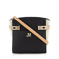 Star by Julien MacDonald - Designer black twist lock trim cross body bag