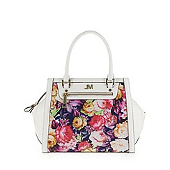Star by Julien Macdonald - Designer white floral winged grab bag