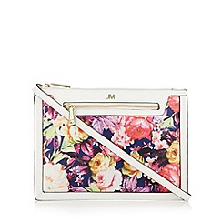 Star by Julien Macdonald - Designer white floral cross body bag