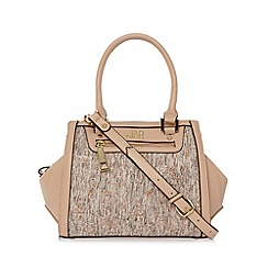 Star by Julien MacDonald - Designer light pink tweed winged tote bag