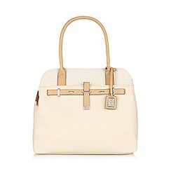 Principles by Ben de Lisi - Designer cream snake shoulder bag