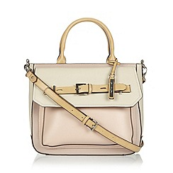 Principles by Ben de Lisi - Designer pink belted colour block grab bag