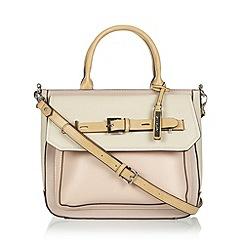 Principles by Ben de Lisi - Designer pink belted colour block grab bag