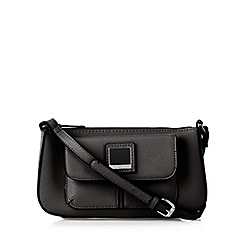 Principles by Ben de Lisi - Designer black logo cross body bag