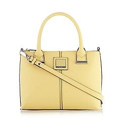 Principles by Ben de Lisi - Designer pale yellow logo grab bag