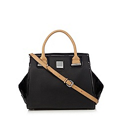 Principles by Ben de Lisi - Designer black winged tote bag