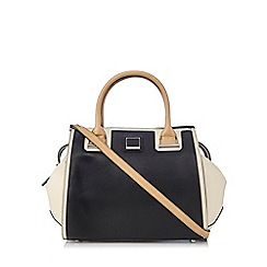 Principles by Ben de Lisi - Black colour block winged tote bag