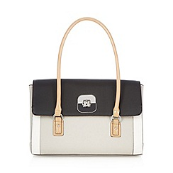 Principles by Ben de Lisi - Designer grey colour block music bag