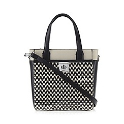 Principles by Ben de Lisi - Designer black weave small grab bag