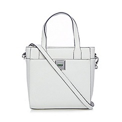 Principles by Ben de Lisi - Designer white mini twist lock grab bag