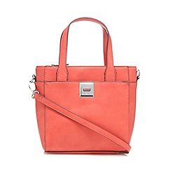 Principles by Ben de Lisi - Designer coral small grab bag