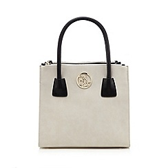 Principles by Ben de Lisi - Designer grey structured large grab bag