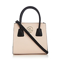 Principles by Ben de Lisi - Designer light pink structured small grab bag