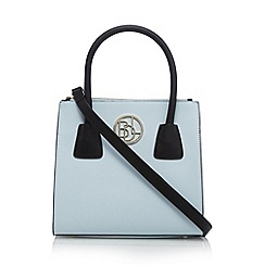 Principles by Ben de Lisi - Designer light blue structured small grab bag