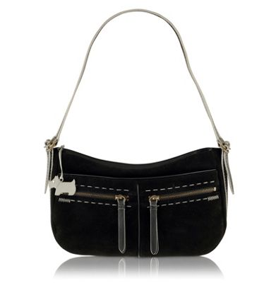 Black Stella medium shoulder bag