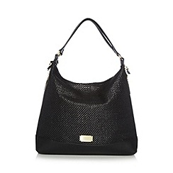 Butterfly by Matthew Williamson - Designer black straw grab bag