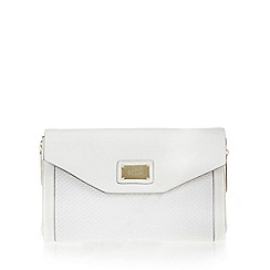 Butterfly by Matthew Williamson - Designer white clutch bag