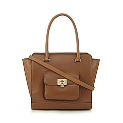 Butterfly by Matthew Williamson - Designer tan winged tote bag