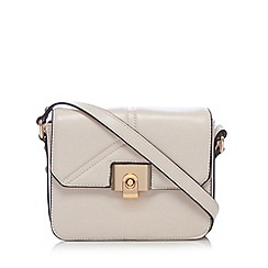 Butterfly by Matthew Williamson - Designer light pink flapover box cross body bag