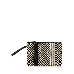 Butterfly by Matthew Williamson - Designer natural aztec clutch bag