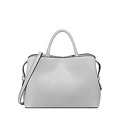 Butterfly by Matthew Williamson - Designer grey leather snakeskin shopper bag