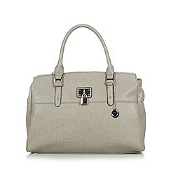 The Collection - Grey padlock grained grab bag