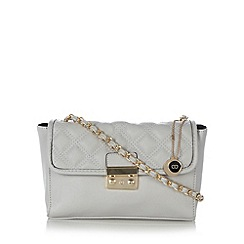 The Collection - Grey quilted underarm bag