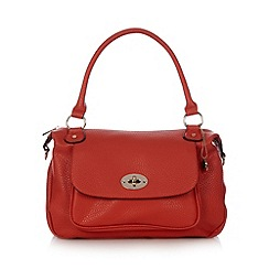 The Collection - Red twist lock pocket grab bag