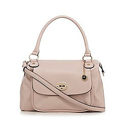 The Collection - Light pink front pocket detail slouchy bag