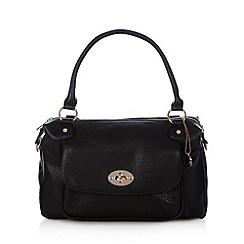 The Collection - Black twist lock pocket grab bag