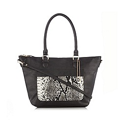 The Collection - Black snake print grab bag