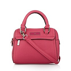 The Collection - Bright pink mini bowler bag