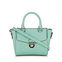 The Collection - Light green push lock grab bag