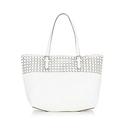 The Collection - White cube cut out shopper