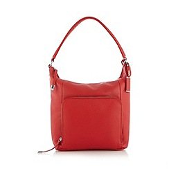 The Collection - Red pocket shoulder bag
