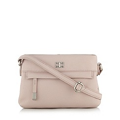 The Collection - Pink leather cross body bag