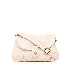 Mantaray - Pale pink washed cross body bag