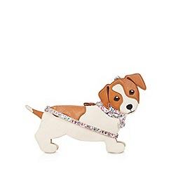Mantaray - Cream dog cross body bag