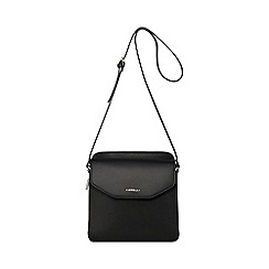 Bailey & Quinn - Black leather triple compartment large shoulder bag