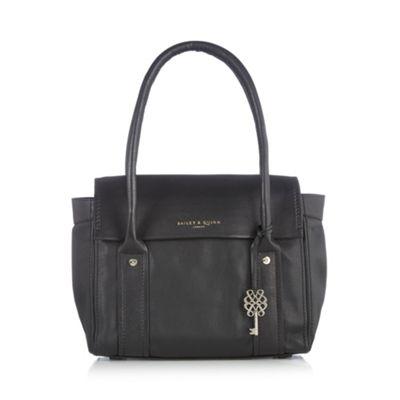 Bailey & Quinn Black ´Azami´ leather shoulder bag - . -