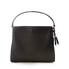 Bailey & Quinn - Black leather 'Orchid' shoulder bag