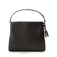 Bailey & Quinn - Black leather 'Orchid' shoulder bag